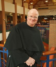 Father Terence Henry, president of Franciscan University of Steubenville.