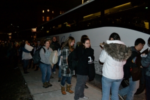 Shortly before midnight, January 24, seven buses pulled out of Franciscan University of Steubenville in Ohio, transporting hundreds of students to the March for Life in Washington, D.C.